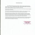 referencje obligat usługi szkolenia bhp ppoż
